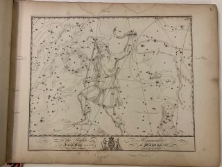 Atlas Celeste]; Exceedingly rare edition of John Bevis's 'Unpublished' Atlas Celeste, also...