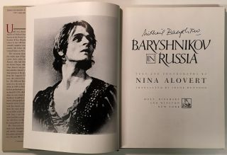 Baryshnikov in Russia. Nina ALOVERT, text, photos.