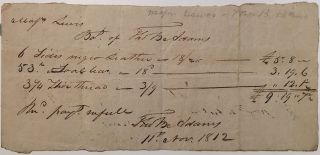 Autographed Document Signed twice. Thomas Boylston ADAMS, 1772 - 1832