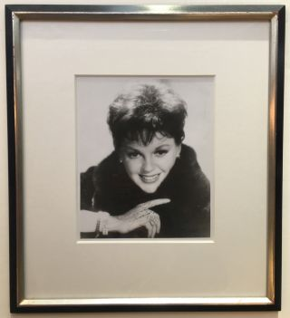 Framed Inscribed Photograph. Judy GARLAND, 1922 - 1969
