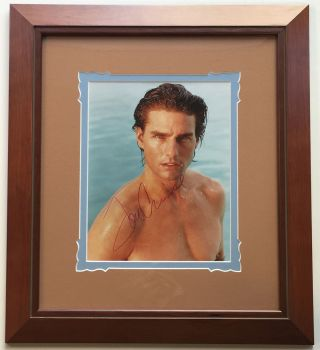 Framed Signed Photograph. Tom CRUISE, 1962