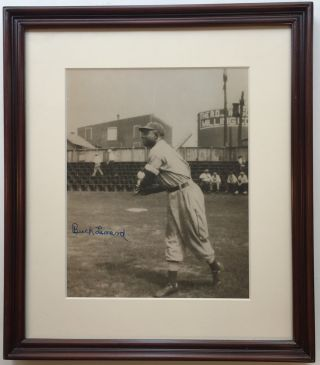 Framed Signed Photograph. Buck LEONARD, 1907 - 1997.