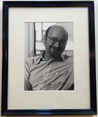 Framed Signed Photograph. Jules FEIFFER, 1929