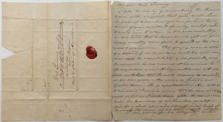 Lengthy Handwritten Letter of Recommendation. Maria EDGEWORTH, 1768 - 1849