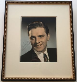Framed Inscribed Photograph. Richard BURTON, 1925 - 1984