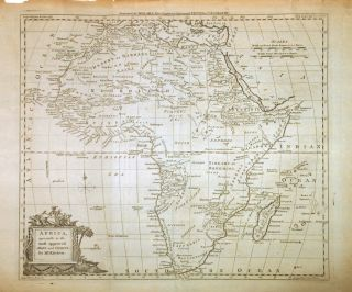 Africa, agreeable to the most approved Maps and Charts, By Mr. Kitchen. Thomas KITCHIN