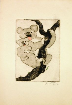 Untitled - Koala mother and baby. Clara TICE