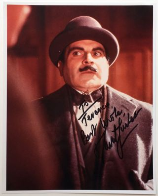 Inscribed Photograph. David SUCHET, 1946
