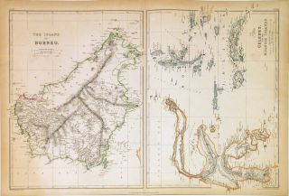 The Island of Borneo. Celebes, and the Molucca Islands. Edward WELLER