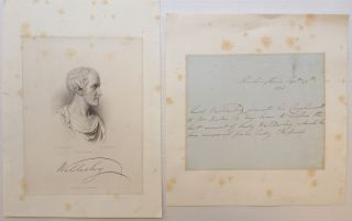 Autographed Note Signed. Lord Richard Colley WELLESLEY, 1760 - 1842