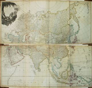 Asia and its Islands According to d'Anville; Divided into Empires, Kingdoms, States, Regions,...
