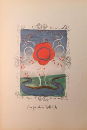 "COLOR LITHOGRAPHS] Derain's ""Au Jardin d'Allah / The Garden of Allah"" Andre DERAIN"