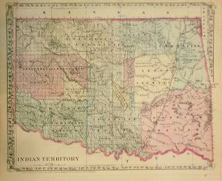 Indian Territory. Samuel Augustus Jr MITCHELL.