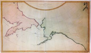 Chart of the N.W. Coast of America and N.E. Coast of Asia explored in the Years 1778 & 1779. James COOK.