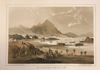 View of Hong-Kong from East Point. Wilhelm HEINE.