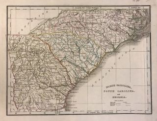 North Carolina, South Carolina, and Georgia. Thomas Gamaliel BRADFORD.
