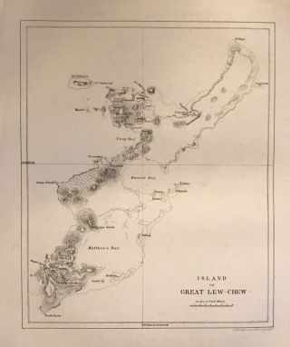 Island of Great Lew-Chew. George ACKERMAN.