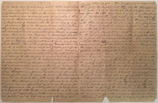 Lengthy Autographed Letter Signed about Dentistry and the early use of Chloroform