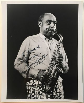 Inscribed Photograph. Benny CARTER, 1907 - 2003