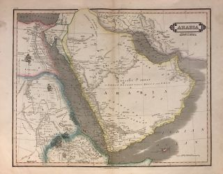 Arabia With the adjacent Countries of Egypt & Nubia. William LIZARS