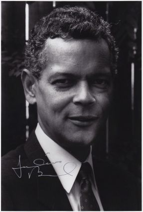 Signed Photograph. Julian BOND, 1940 - 2015
