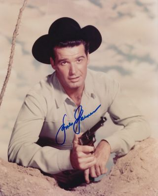 Signed Photograph. James GARNER, 1928 - 2014