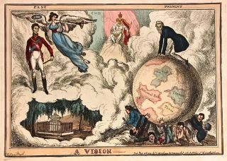 A Vision; Scarce 1830 Political Satire. William HEATH