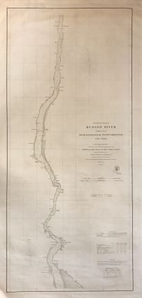 Preliminary Chart of Hudson River Sheet No. 2 From Haverstraw to Poughkeepsie New York. A. D. BACHE, U S. COAST SURVEY.