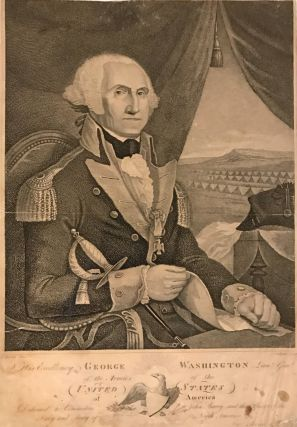 His Excellency George Washington Lieut. Genl. of the Armies of the United States of America....