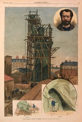 The Bartholdi Statue of Liberty. HARPER'S WEEKLY