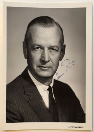 Signed Photograph. James A. PERKINS, 1911 - 1998