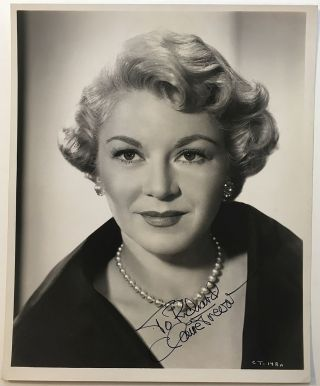 Inscribed Photograph. Claire TREVOR, 1910 - 2000