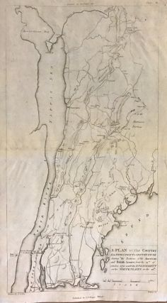 A Plan of the Country from Frog's Point to Croton River shewing the Positions of the American and...