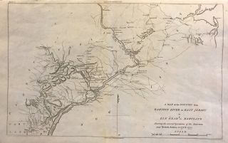 A Map of the Country from Rariton River in East Jersey to Elk Head in Maryland. Shewing the several Operations of the American and British Armies, in 1776 and 1777. John MARSHALL.