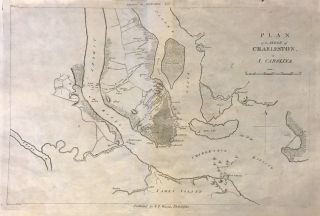 Plan of the Siege of Charleston in S. Carolina. John MARSHALL.