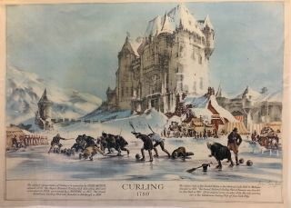 Curling 1780. Denis WREFORD.