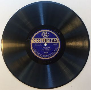 Signed 1915 Columbia Records phonograph disc