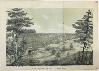 Croton Aqueduct at Mill River. D. T. VALENTINE, David Thomas
