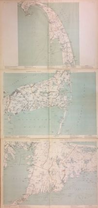Massachusetts Atlas Triptych: Plates 8, 9, and 12. GEORGE H. WALKER, CO.