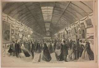 Picture-Gallery of the Fair, Fourteenth-Street Building. HARPER'S WEEKLY