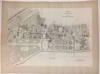 Plan Du Quartier Du Palais Royal. Alexis-Hubert JAILLOT