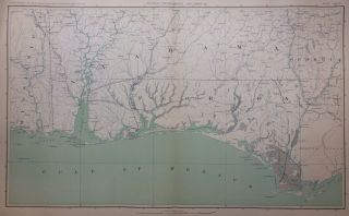 General Topographical Map. Sheet XII. Julius BIEN.