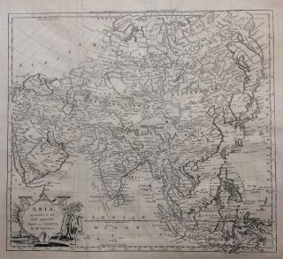 Asia, agreeable to the most approved Maps and Charts. Thomas KITCHIN
