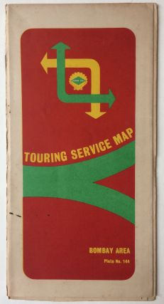 Bombay Area Transport and Tourism; National Atlas of India Plate No. 44