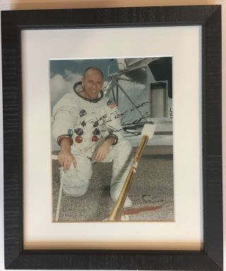 American Astronaut. Signed photograph. Alan BEAN, 1932