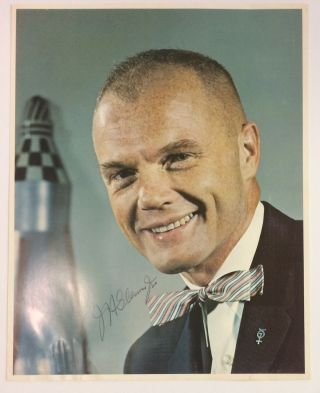 Signed Photograph. John GLENN, 1921 - 2016.