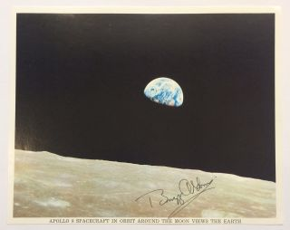 American Astronaut. Signed Photograph. Buzz - ALDRIN, 1930 -.