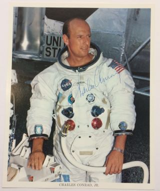 American Astronaut, Signed Photograph. Charles CONRAD, 1930 - 1999.