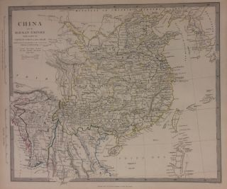 China and the Birman Empire with parts of Cochin-China and Siam. SDUK, The Society for the Diffusion of Useful Knowledge.