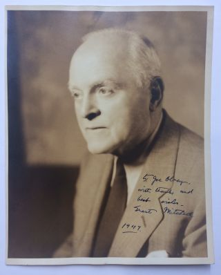 Inscribed Signed Photograph. Grant MITCHELL